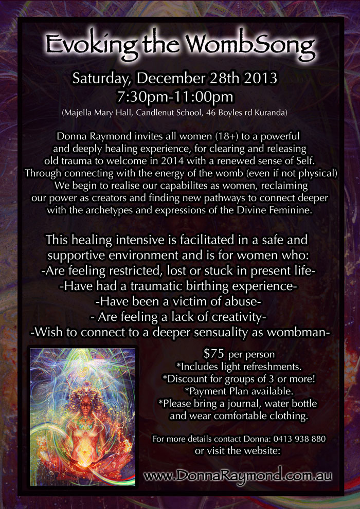 Evoking the WombSong workshop