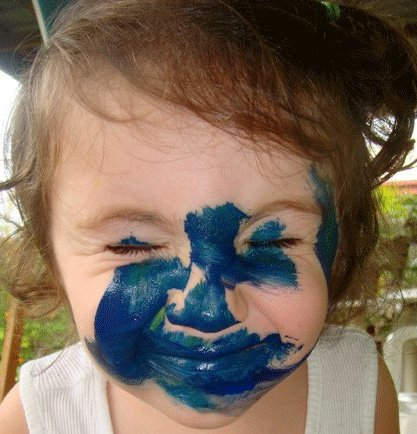 Auraura face paint