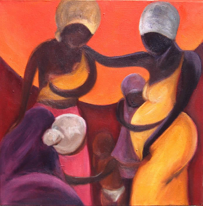 "Circle of Women"" by Addie Boswell"